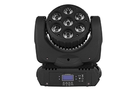 7pcs*12W 4in1 Moving Head Beam Light