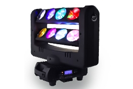 LED 8 Eye Spider Moving Head  Light