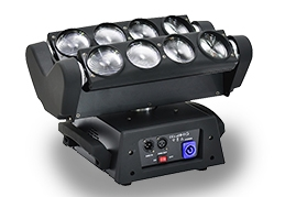 LED 8 Eye Spider beam Moving Head  Light