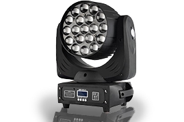 19*15W MOVING HEAD ZOOM LIGHT